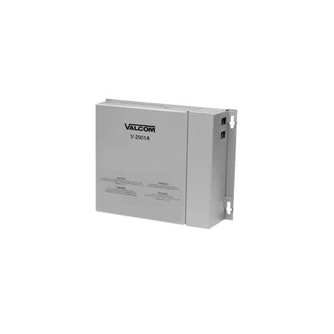 Valcom V-2001A PAGE CONTROL ONE-WAY 1-ZONE with POWER - TONE GENERATOR - Multicolor