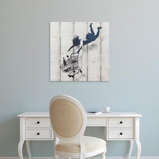 Easy Art Prints 's 'Wall Grafitti' Premium Canvas Art