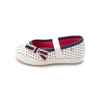 Pampili Girls Pom Pom Tenis Slip On Mary Jane Flats - Toddler 6