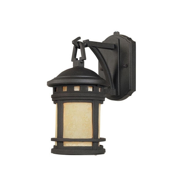 Designers Fountain ES2370 1-Light Down Lighting Energy Star Outdoor Wall Sconce from the Sedona Collection
