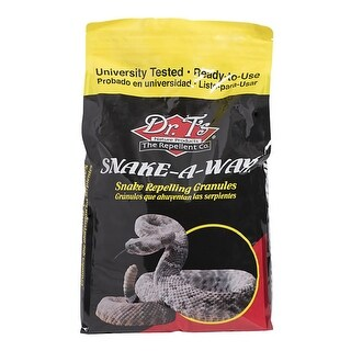 Dr. T's DT364B-10 Snake-A-Way Snake Repellent Granules, 10 lbs