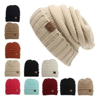 Knitted Wool Cap Beanies Hat