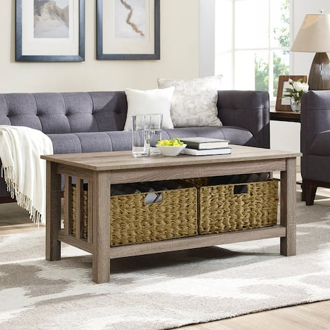 Middlebrook Designs 40-Inch Mission Style Coffee Table