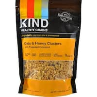 Kind Fruit and Nut Bars - Healthy Grains Oats And Honey Clusters With Toasted Coconut ( 6 - 11 OZ)