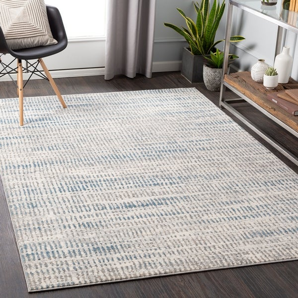Milly Contemporary Stripe Area Rug. Opens flyout.