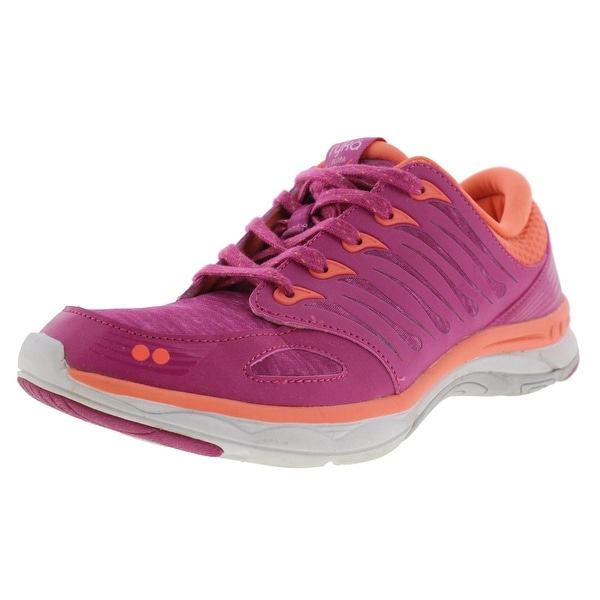 Ryka Womens Flora Walking Shoes Mesh Memory Foam