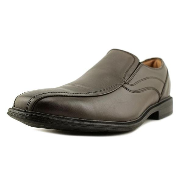 GH Bass & Co Glenn Men Square Toe Leather Brown Loafer