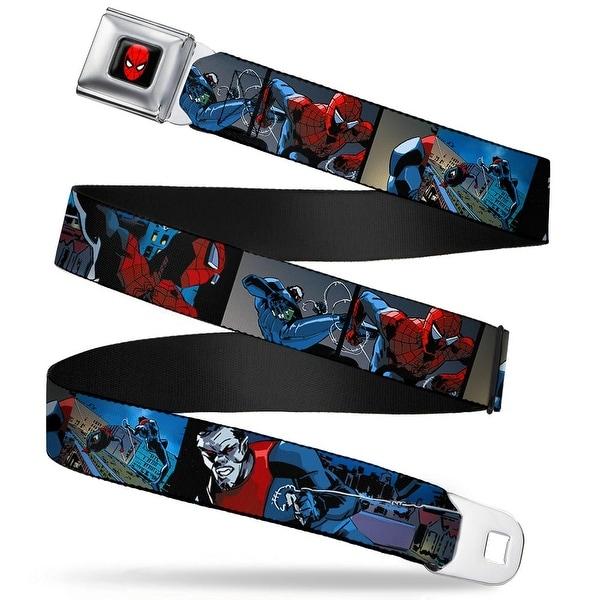 Marvel Universe Spider Man Full Color Spider Man & Morbius Action Blocks Seatbelt Belt