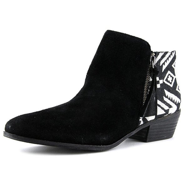 Yellow Box Acacia Women Black/White Boots