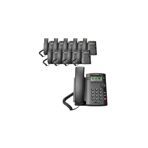 Polycom VVX 101 (2200-40250-025) (10-pack) 1-line Desktop Phone PoE