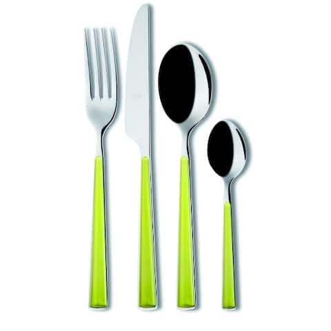 24-piece Stainless Steel Primavera Flatware Set (Service for 6)