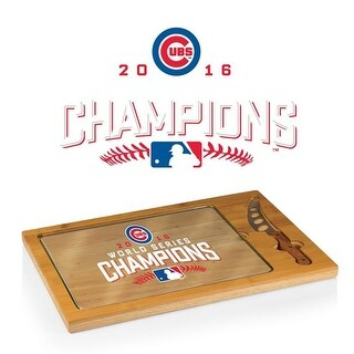 2016 World Series Champions, Chicago Cubs - Icon Cutting Board