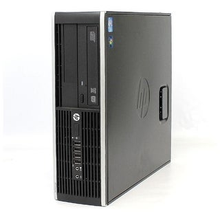 Refurbished - HP Elite 8200 SFF Desktop Intel Pentium G630 2.7GHz 4GB 250GB Windows 7