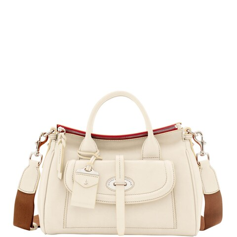 Dooney & Bourke Florentine Toscana Small Front Pocket Satchel (Introduced by Dooney & Bourke at $498 in Jan 2017)