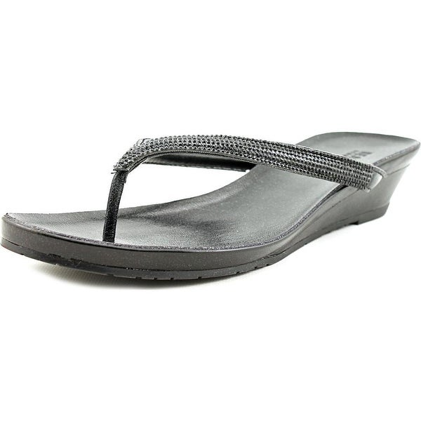 Kenneth Cole Reaction Great Time Women Black Sandals