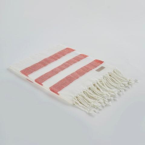 Salem Kavak Fringe Turkish Cotton Beach Towel