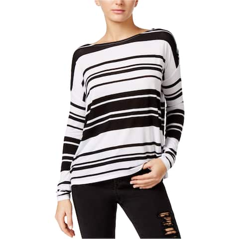Guess Womens Striped Basic T-Shirt