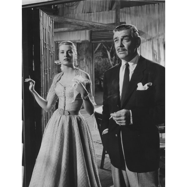 a1f6833035 Grace Kelly and Clark Gable in Mogambo Photo Print