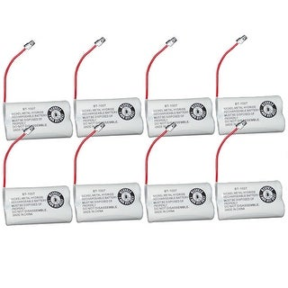 Replacement BT1007 (TL26602) Battery For Uniden DECT1880-8 / DECT1888-8 Phone Models (8 Pack)
