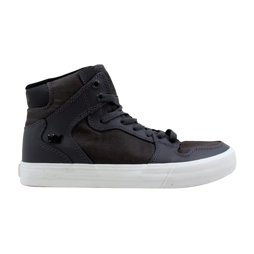 c0b36dfc785 Shop Supra Vaider Charcoal/Black-White 08205-037-M Men's - Free Shipping On  Orders Over $45 - Overstock - 27339773