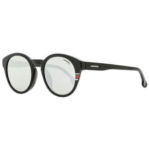 Carrera 184/F/S 003T4 Unisex Shiny Black 51 mm Sunglasses - Shiny Black