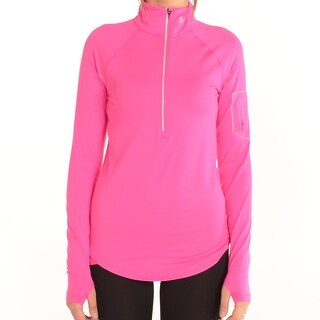 Women'S Fly Fast 1/2 Zip Top Rebel Pink