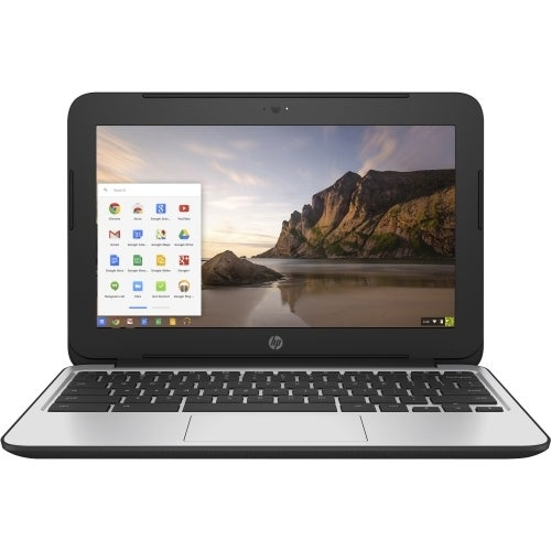 "Refurbished HP P0B78UT-ABA-R HP Chromebook 11 G4 11.6"" Chromebook - Intel Celeron N2840 Dual-core (2 Core) 2.16 GHz - Black"