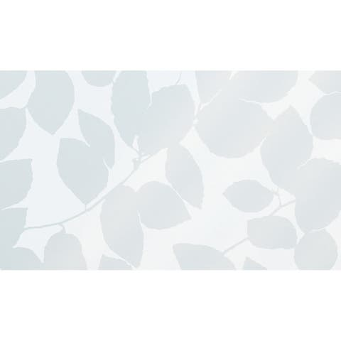 "Brewster FAB13840 Leaf 35.43"" x 59"" Window Size Botanical Static Cling Vinyl Window Film -"