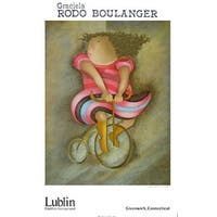 ''Tricycle'' by Graciela Rodo Boulanger Latino Art Print (34.25 x 22 in.)