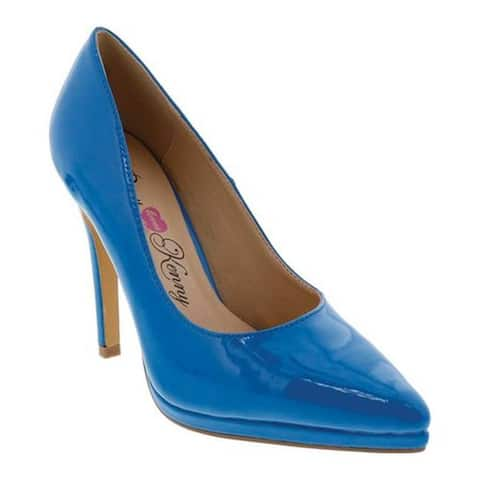 Penny Loves Kenny Women's Opus PL Pump Blue Patent