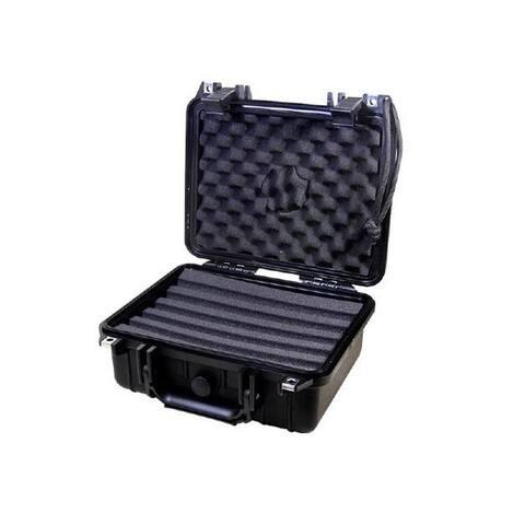 Gurkha ABS Plastic Waterproof Travel Cigar Humidor, Medium