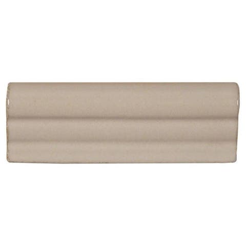 """MSI PT-CRWN-AW2X6 Antique White - 2"""" x 6"""" Chair Rail Tile - Smooth Visual - Sold by Piece - Beige"""