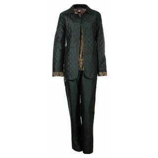 Sutton Studio Womens 3 Pcs Quilted Pant Suit Set Misses https://ak1.ostkcdn.com/images/products/is/images/direct/eb0ab87d487d31e768347bfc10b02ab7966e1543/Sutton-Studio-Womens-3-Pcs-Quilted-Pant-Suit-Set-Misses.jpg?impolicy=medium