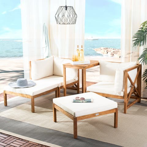 Safavieh Outdoor Living Ronson 5 Pc Sectional Set
