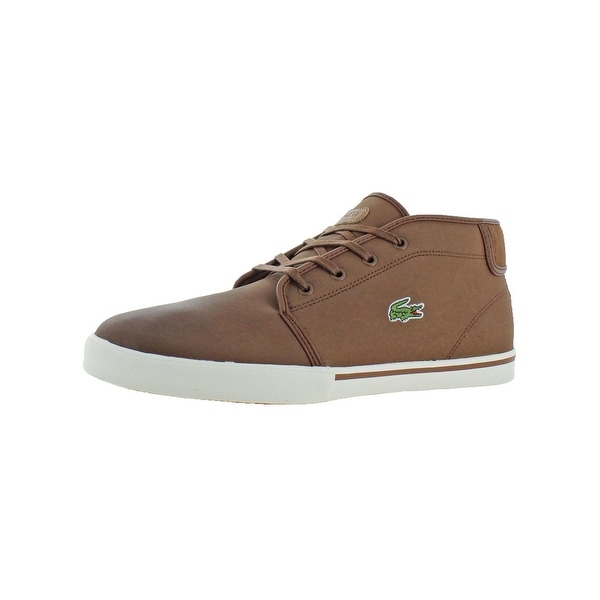 3ef10e68bf Shop Lacoste Mens Ampthill Chukka Leather Casual - Free Shipping ...