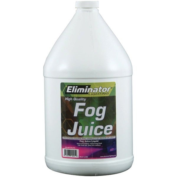 Eliminator Lighting 4L Eco Fog Juice, 4-Liter Jug (Standard)