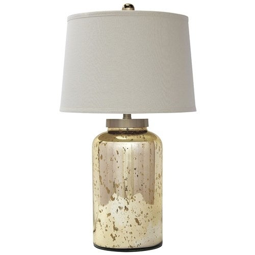 Shop Quot Shannin Gold Finish Glass Table Lamp L430054 Shannin