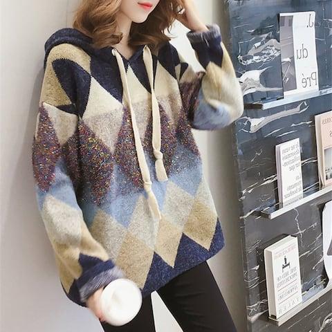 Korean Sweater Women Loose Small Fresh And Sweet