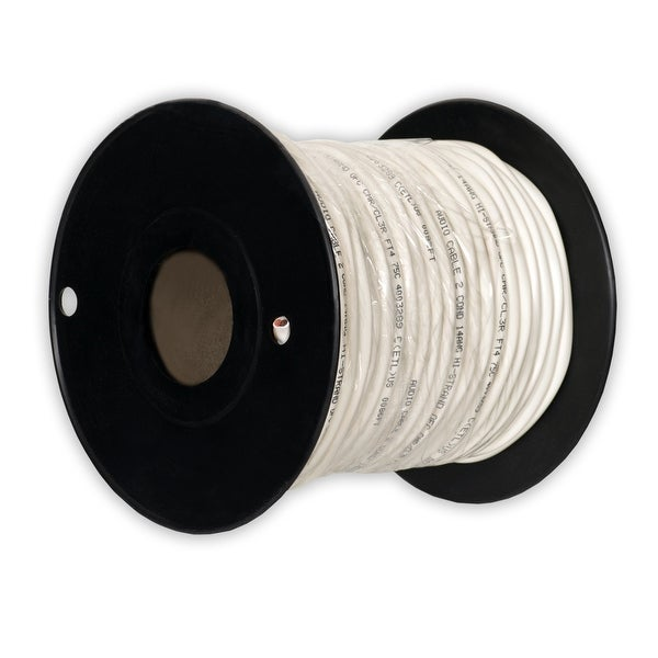 Theater Solutions C100-14-2 CL3 Speaker Wire 2 Conductor 14 Gauge 100' Roll UL