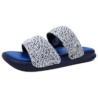 Nike Men's Benassi Duo Ultra SLD/Pigalle Loyal Blue/Game Royal-White Nike Lab 902783-400