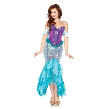 97b675e726e2c Shop Disney Princess Womens Deluxe Ariel Little Mermaid Costume - Free  Shipping Today - Overstock - 14672149