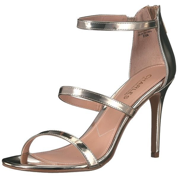 Charles by Charles David Womens Ria Open Toe Casual Ankle Strap Sandals