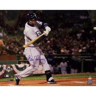 Evan Longoria Autographed Hand Tampa Bay Rays 16x20 Photo Photograph