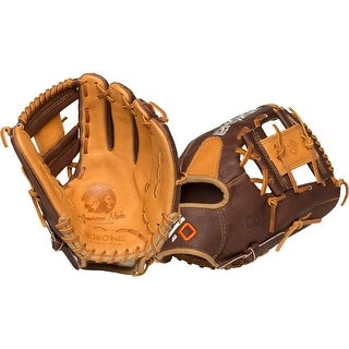 Nokona Alpha Select Left Handed Thrower 11.25-inch I Web Leather Baseball Glove S-200i/R