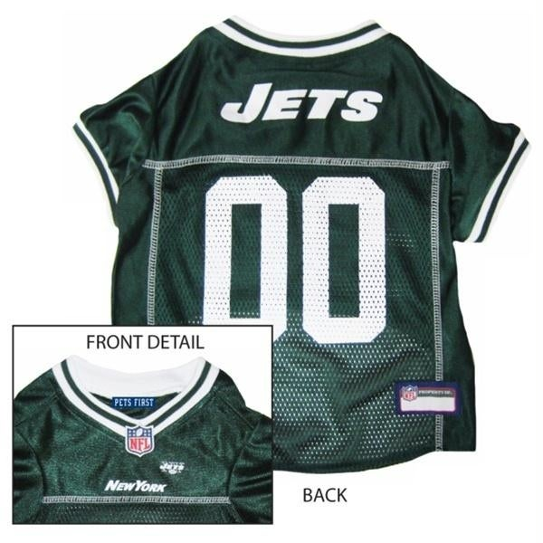 lowest price 6c7f8 34caf ny jets jersey for dogs