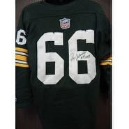 Signed Nitschke Ray Green Bay Packers Green Bay Packers Replica Sweater Jersey Size Large autograph