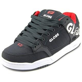 Globe Tilt Men Round Toe Suede Black Skate Shoe