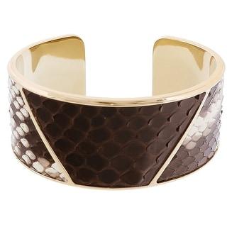 Stamerra PITTONE CREMA Cream Genuine Python Bracelet