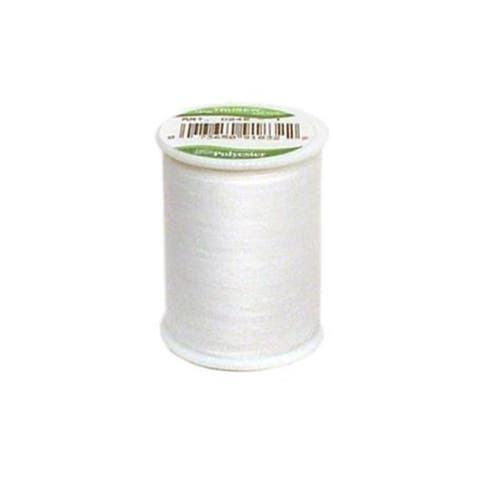 C&C Trusew Thread 100% Poly 150yd White