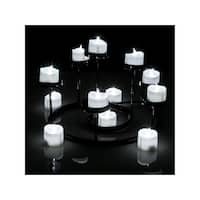 Tea Light Candles White, AGPtek 6 PCS LED Flameless Battery Operated Tea light Tealight Candles with Batteries